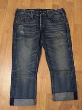 TRUE RELIGION WOMENS KINGSTON PONY EXPRESS IN DUSTER  NWT RARE Sz 27