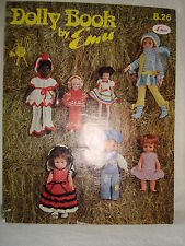 Vintage Emu Dolly Book Knitting Patterns for Dolls