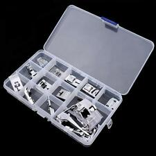 15 Sets Sewing Machine Foot Feet Accessory For Brother Janome New Sewing Tool