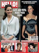 HELLO,Kate Middleton,PIPPA,Elizabeth Taylor,Thom Evans,Kelly Brook,Cheryl Cole