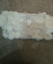 ENZOANI Bridal Shrug In Ivory Size 14