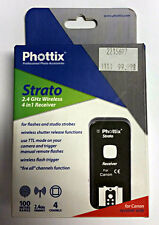 Brand New Phottix Strato 4-in-1 Wireless Flash Trigger (Receiver Only) for Canon