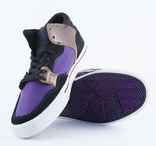 SUPRA SHOTGUN Textile & Leather High Top Casual Skate Trainers SIZE UK 8.5 EU 43