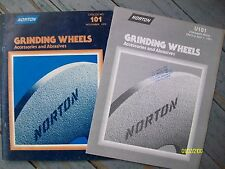 Vintage Original 1980 Norton Worchester MA Grinding Wheels & Price List booklet