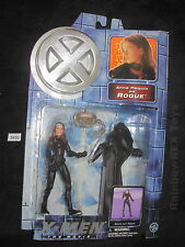 X-MEN The Movie ANNA PAQUIN as ROGUE Battle Suit Rogue ToyBiz 2000 Marvel Fig #2