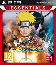 Naruto Shippuden Ultimate Ninja Storm Generations  Brand New PS3 Game UK Release