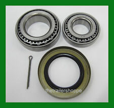 "Trailer Hub Wheel Bearing Kit 5200 & 6000# EZ Lube Axle 2.25"" Seal 25580 15123"