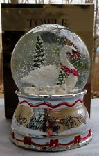 2016 Towle 12 Days of Christmas SEVEN Swans Swimming Snowdome Snowglobe NEW