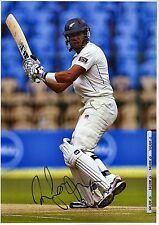 ROSS TAYLOR - Signed 12x8 Photograph - NEW ZEALAND CRICKET