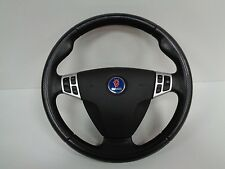 2006 (03-07) Saab 9-3 Vector Sport complete leather steering wheel with controls