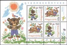 Hongrie 2010 europa/children's books/auteurs/auteurs/ours/animaux 4v m/s n45118