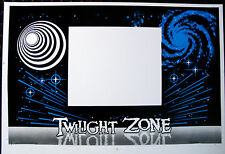 TWILIGHT ZONE screen printed front panel cabinet decal dutch auction