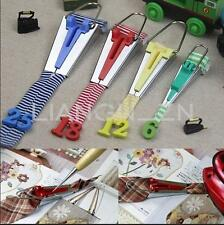 Set of 4 Fabric Bias Tape Maker Binding Foot Awl Tool Sewing 6mm 12mm 18mm 25mm