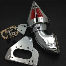 Intake Spike Air Cleaner Kits For 2002-2009 Honda Vtx 1800 R S C N F Chrome