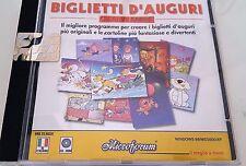 Biglietti D'AugurI Programma CD ROM