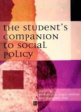 The Student's Companion to Social Policy By Pete Alc*ck, Angus  .9780631202400