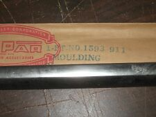 NOS Mopar 1955-56 Plymouth club coupe & sedan left qtr panel front belt molding