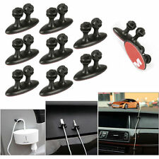 16 BLACK Car SUV Wire tidy organiser wire cord lead USB CHARGER Cable Drop Clip