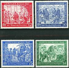Germany Leipziger Messe Complete Set of 4 MNH Scott's 580 to 583