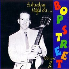 SATURDAY NIGHT ON BOP STREET Volume 2 - 1950s rockabilly rock 'n' roll - NEW