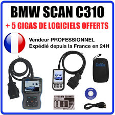 BMW C310 SCANNER - Valise Diagnostique BMW & MINI - INPA K+DCAN ELM327