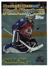1999 2000 99/00 TOPPS....SEASON'S BEST....POST MASTERS....PATRICK ROY....PM5