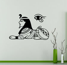 Sacred Egypt Sphinx Vinyl Decal Ancient Vinyl Sticker Egyptian Home Interior 17