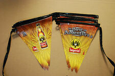 Imperial Costa Rica Beer Batman Pennant Flag String -5 Sets - 85 Feet+  New  F/S