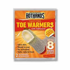 Hot Hands Toe Warmers 20 Pairs plus Insole Foot Warmers 3 Pairs, Made in USA