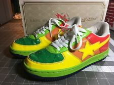 Rare A Bathing Ape Bape Bapesta Sta 11th Anniversary Edition Size 8 From Japan