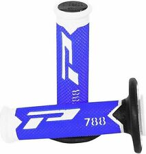 Pro Grip 788 grips - YAMAHA YZ 125 250 YZF 250 450 Motocross MX NEW FLO BLUE