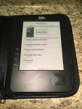 Kobo Wireless EReader - N647 - WiFi - Holds up to 1000 titles - Works Great