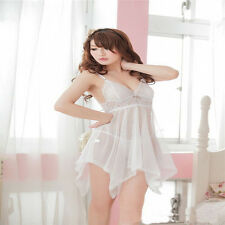 Women's Sexy Lingerie Set Dress Nightwear Underwear Sleepwear G-string Babydoll