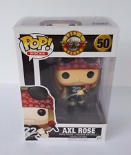 Funko Pop Rocks Guns N Roses AXL ROSE Vinyl Figure #50 Mint in Box - IN STOCK