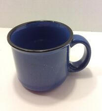 Marlboro Unlimited Blue Speckled Stoneware Mug 16 Ounces