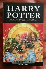 Harry Potter and the Deathly Hallows, 1st edition HB, JK Rowling