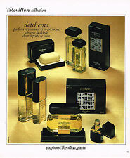 PUBLICITE ADVERTISING 054  1978  REVILLON    parfums