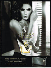 PUBLICTE ADVERTISING  2010   SEDUCTIVE  parfum  GUESS                     120313