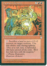 MAGIC THE GATHERING ICE AGE RED DWARVEN ARMOURY