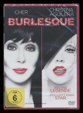 DVD BURLESQUE - CHER + CHRISTINA AGUILERA + PETER GALLAGHER + STANLEY TUCCI *NEU