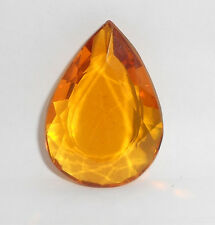 103.05 Ct. Translucent Yellow Citrine eBay Pear Cut Certified Loose Gemstone -66