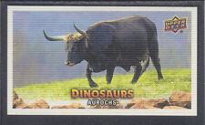 Upper Deck 2015 - Dinosaurs - Canvas Mini SSP # 139 Aurochs