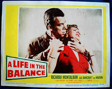 A LIFE IN THE BALANCE MOVIE POSTER! Georges Simenon Novel/Lee Marvin