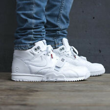 NIKE AIR TRAINER 1 MID SP / FRAGMENT X Ltd Edition - UK 9.5 (EUR 44.5) - White