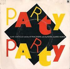 DISCO 45 Giri  Elvis Costello & The Attractions - Party Party / Imperial Bedroom