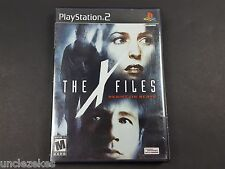 X-Files Resist or Serve Sony PlayStation 2 2004
