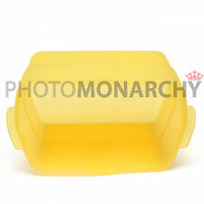Diffusore Softbox GIALLO per Flash YONGNUO 560 565EX 565 EX CANON 580EX EXII