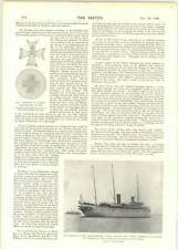 1899 The Late Lady Salisbury Kaisers Yacht Hohenzollern