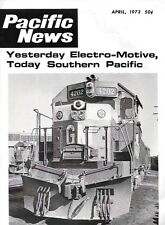 Pacific News 138 April 1973 Electro Motive EMD Southern Pacific Diesel Switchers