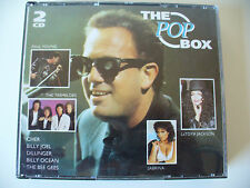 The Pop Box, mit Paul Young, Cher, Billy Ocean u.v.m. Albenbox mit 2 CD (Box 23)